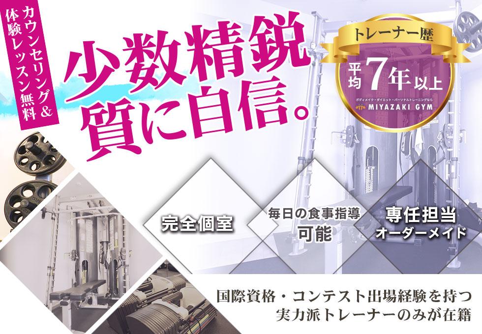 MIYAZAKI GYM(ミヤザキジム)武蔵小杉店のサムネイル画像