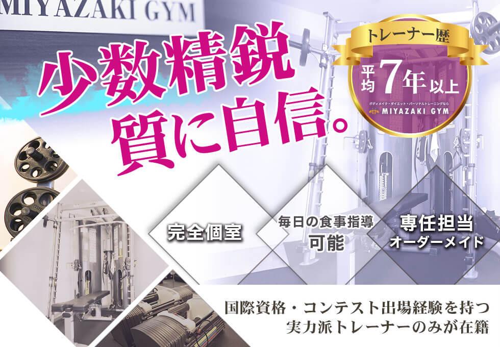 MIYAZAKI GYM(ミヤザキジム)自由が丘店のサムネイル画像