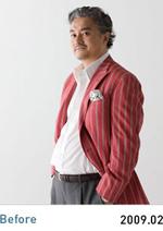 BODY DIRECTOR(ボディダイレクター)の40代男性の痩せる前の画像